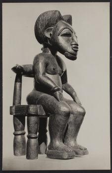 Sculpture : portrait d'un chef