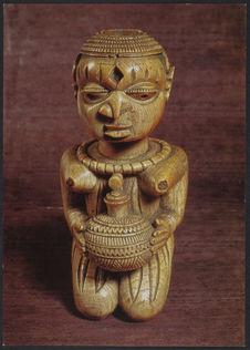 Sculpture en ivoire