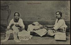 Ceylon lace-making