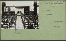 Salle des conférences IFAN