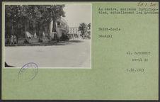 Saint-Louis. Au centre, ancienne fortification, actuellement les Archives