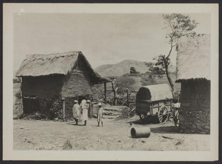 Fianarantsoa, village betsiléo, Madagascar