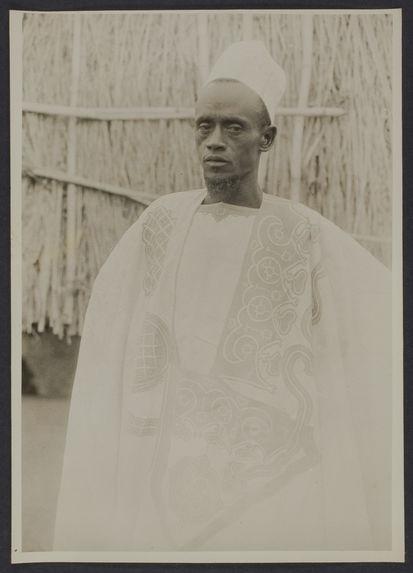 Amadou Bari, chef de canton peul, Timbo, Guinée