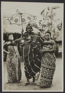Danha Benhanzin, chef de canton, Allahé, Dahomey