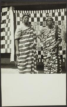 Deux grands chefs baoulé