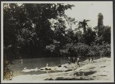 Transports lagunaires (Mission IFAN Dekeyser-Holas au Libéria en 1948)