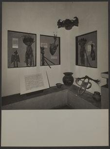Sans titre [salle d'exposition, musée de Côte d'Ivoire à Abidjan]