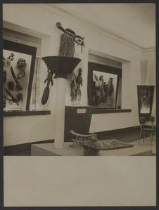 Sans titre [salle d'exposition du musée de la Côte d'Ivoire à Abidjan]