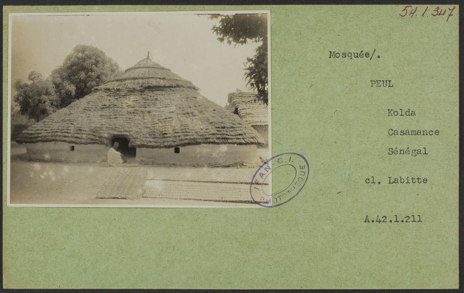 Mosquée [vue extérieure]