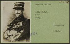 Capitaine Joalland [reproduction de dessin]