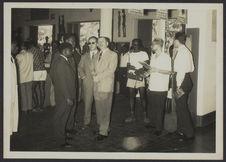 Sans titre [inauguration d'une exposition du musée de la Côte d'Ivoire]