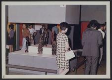 """Sans titre [inauguration de l'exposition """"art of black africa""""]"""