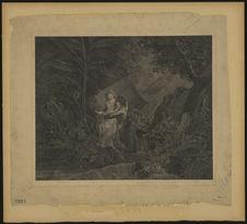 Sans titre [Paul et Virginie dans la forêt]