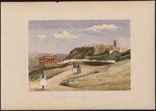 Parthénon, temple de Thésée et ville