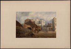 """Rue de Gorée et maison """"dite"""" des esclaves"""