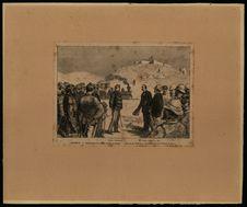 Algérie. Inauguration du chemin de fer au Kreider