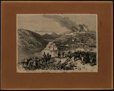 Algérie. Combat de Tizi Ouzou. Colonel Pourchaud de la colonne Lallemand. A...
