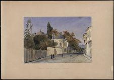 'Tombeau d'une sultane mère près d'Eyoub [Eyüp/Eyup] (Constantinople)...
