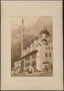 """""""Vue de Yeni Djami, ou mosquée neuve à Constantinople [Istanbul]&quot"""
