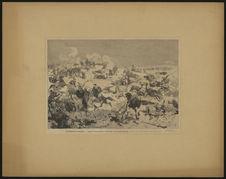 Evénements d'Afrique. Combat de Tmaïs ben-Salem au Chott Tigri, sur la frontière...
