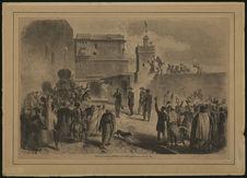 Visite de sa majesté l'Empereur à la Casbah d'Alger