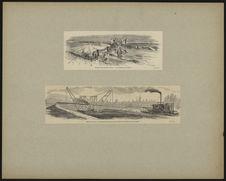 Chemin de fer du Caire à Suez, La civilisation et le désert - Machine destinée...
