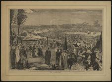 Fantasia exécutée, le 20 septembre, devant leurs Majestés, dans la plaine de...