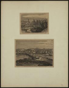 Extraction des blocs destinés au port de Saint Pierre - Travaux exécutés au port...