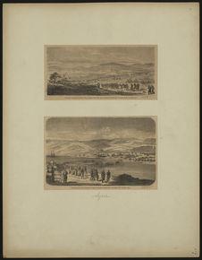 Camp des troupes françaises dans la plaine des Pins, aux environs de Beyrouth -...
