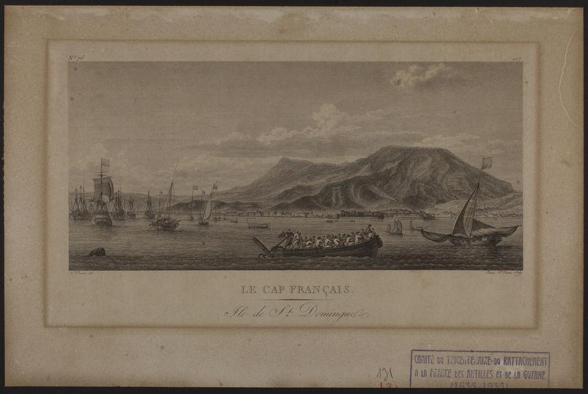 Le Cap français. Ile de St Domingue