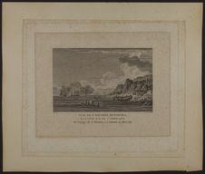Vue de l'entrée de Nootka, à la côte N.O. de l'Amérique. Du voyage de J. Meares,...
