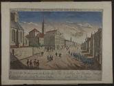Vue de la Rue des Recolets dans la haute Ville de Québec