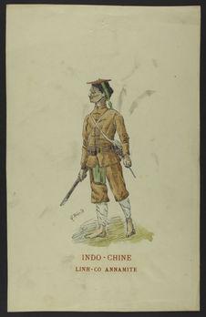 Indo-Chine - Linh-Co annamite