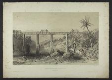 Aqueduc Chabrier dans la ravine du Gol - Quartier Saint Louis