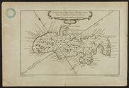 Carte de l'Isle de la Martinique
