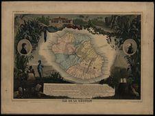 Ile de la Réunion Colonie Française (Océan Indien)