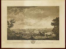Vue de la ville et du port de Bayonne