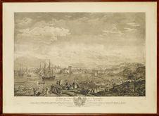 L'entrée du port de Marseille - Vue de la Montagne appellée Tête de More