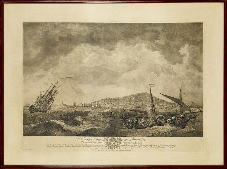 Le port de Cette en Languedoc