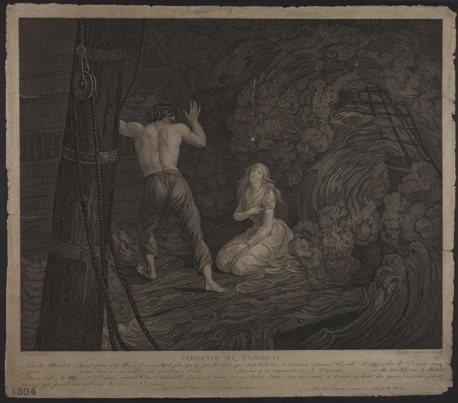 Virginie au tombeau