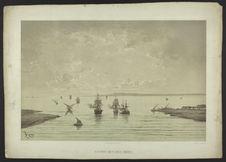 Entrée des Lacs Amers