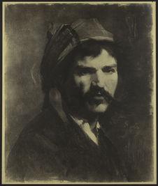 Sans titre [Portrait du peintre Laval Viz]