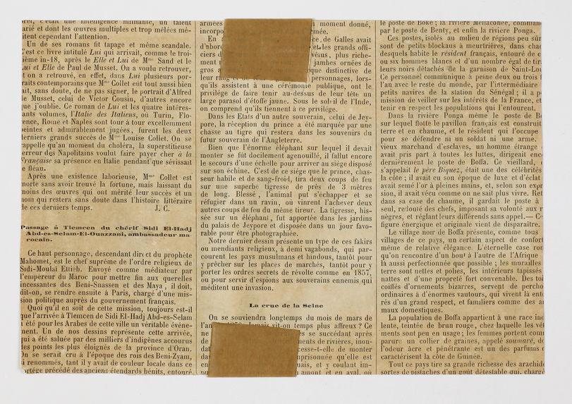 Sans titre [Algérie - Réception par le Général De Flogny de l'Ambassade Marocaine, 1816]
