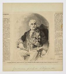 Le marquis d'Hautpoul, général de division, grand référendaire du Sénat, décédé...