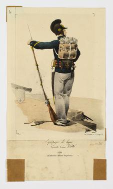 Equipages de ligne Grande tenue d'été 1830
