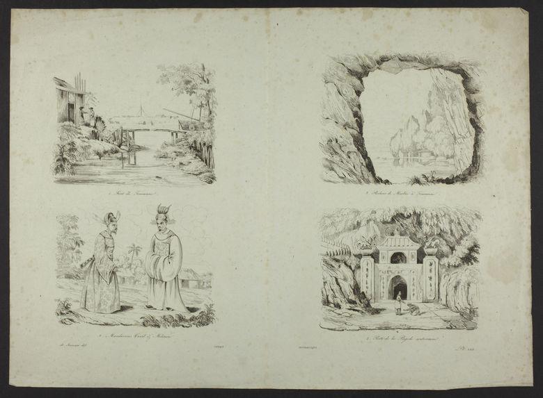 Fort de Touranne - Mandarins -  Rochers de Marbre - La pagode souterraine