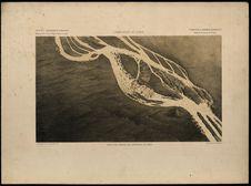Plan à vol d'oiseau des cataractes de Khon