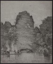 Une rivière au Tonkin