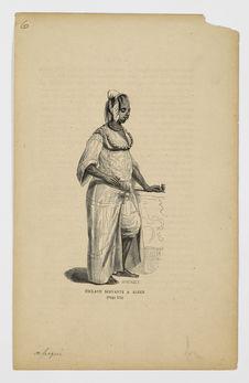 Esclave servante à Alger