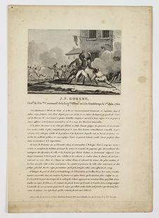 J. N. Gobert, Gén[ér]al de Div[isi]on […] né à la Guadeloupe le 1er Juin 1760